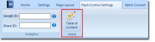 Flash Control Settings