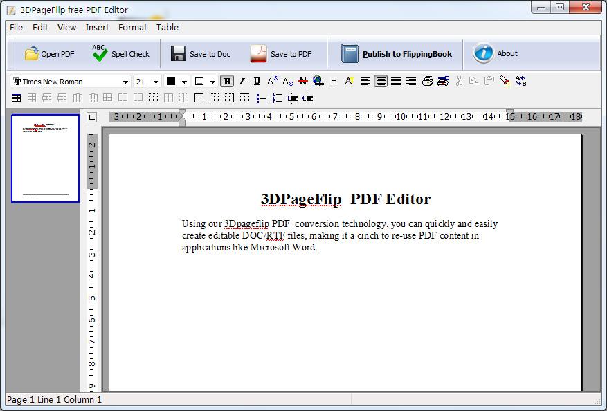 Download Free 3dpageflip Pdf Editor Freeware By 3d