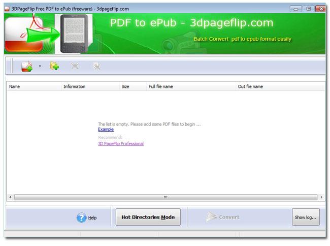 how to create epub file