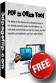 Free PDF to Office Conversion Tool 1.0