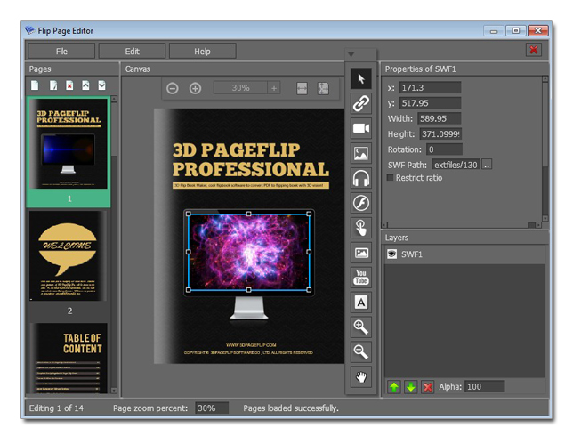 3d flip book maker cool flipbook software to convert pdf 3d editor