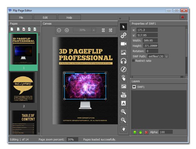 3d Flip Book Maker Cool Flipbook Software To Convert Pdf: 3d editor