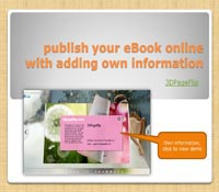 Publish Your eBook Online with Adding Own Information