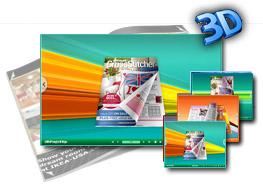 Bracing 3D Page Flip Book Templates 1.0
