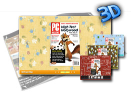 3D Page Flip Book Templates of cartoon paper 1.0
