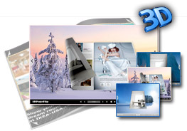 Cold Theme for 3D Page Flip Book 1.0
