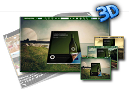 Dreamy theme for 3D Flip eBook 1.0