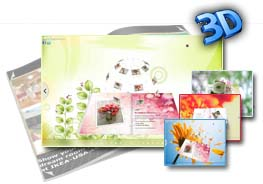 3D PageFlip eBook Flower Themes 2.0
