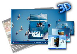 3D Flying Theme for Page Flip Book 1.0