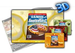 3D PageFlip Fresh Fruit Templates 1.0