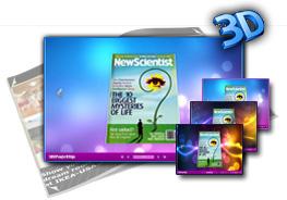 Gorgeous theme for 3d flip book theme 1.0