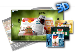 Grass Theme for 3D Flipbook 2.0