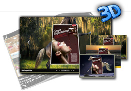 Horse Theme for 3D PageFlip Book 1.0