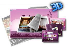3D PageFlip lovebirds Templates 2.0