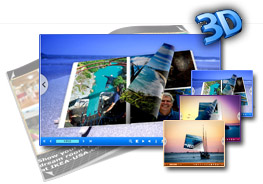 3D PageFlip Book Seaside Theme 1.0