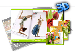 Tulips Theme for 3D Flash Flip Book 1.0