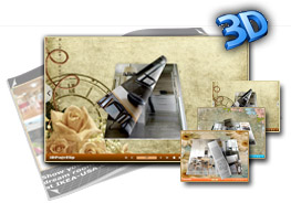 Wallpaper Templates for 3D eBook 1.0