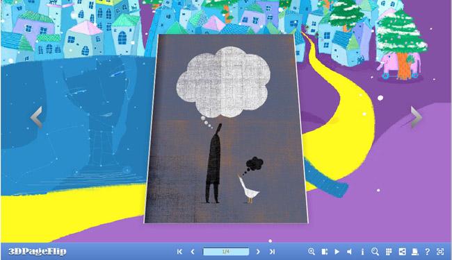 Art Theme for 3D PageFlip Book 1.0 full