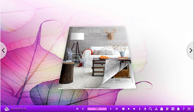 3D Page Flip Book Beauteousness Theme 1.0 full