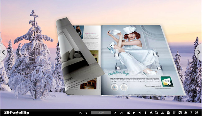 3d page flip book, page flip, flash ebook, pdf to 3d flash ebook, page turning
