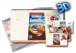 3D PageFlip Sweet Food Templates(1) 1.0