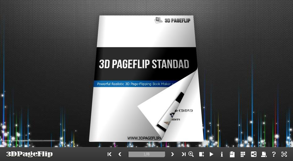 3DPageFlip Free Presentation Templates 1.0